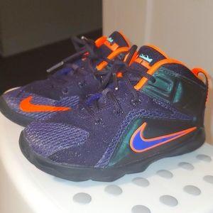 Nike Lebron 12 Instinct in toddler size 10c.